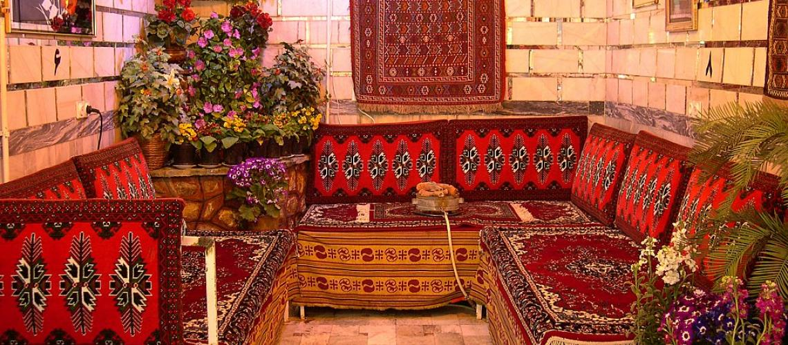 A tea house in Iran